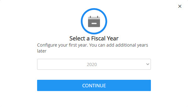 Select a Fiscal Year